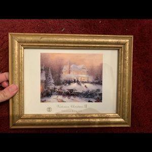 Thomas kinkade framed print